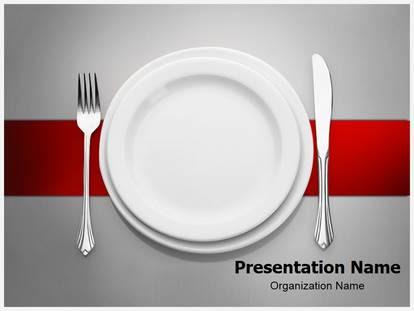 Restaurant Powerpoint Template Background Subscriptiontemplates Com