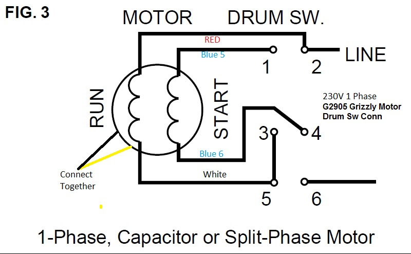 220 Motor Wiring Diagram