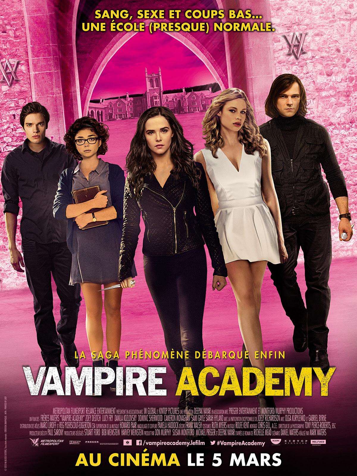 Vampire Academy : Affiche