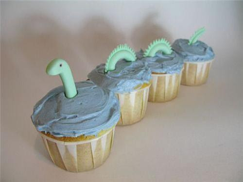 cute food photos - Loch Ness Cupcakes