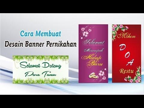 Banner Selamat Datang Tamu Undangan Cdr - contoh desain ...