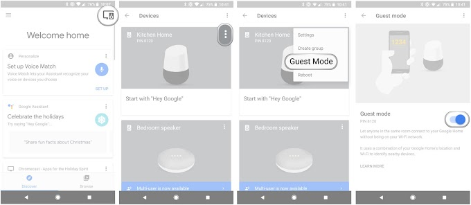 OK GOOGLE, TURN ON GUEST MODE – WHAT'S NEW IN GOOGLE ASSISTANT
