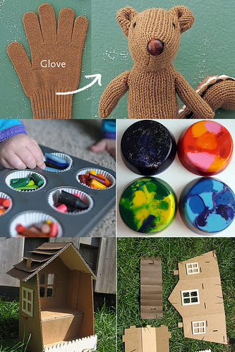 Tutorial Roundup:  Earth Day Crafts