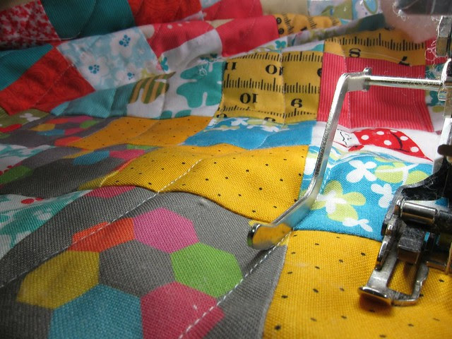 Quilting concentric circles