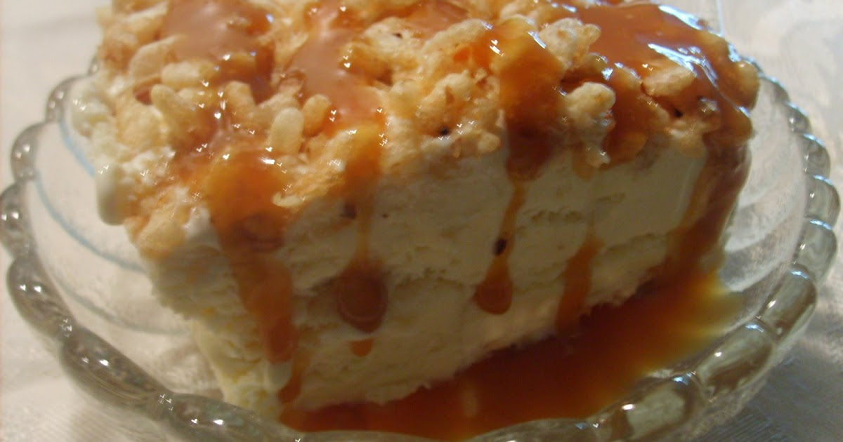 Cooking With The Preacher's Wife: RICE KRISPIE ICE CREAM ...