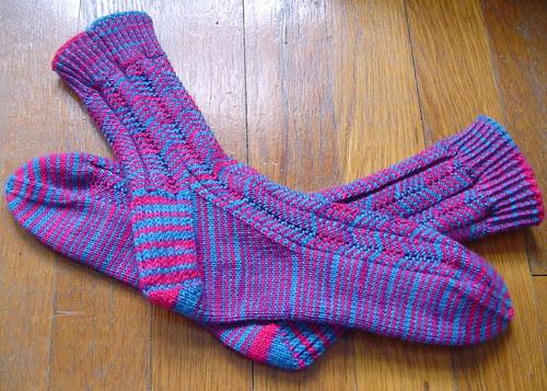 Crazy Stripes socks
