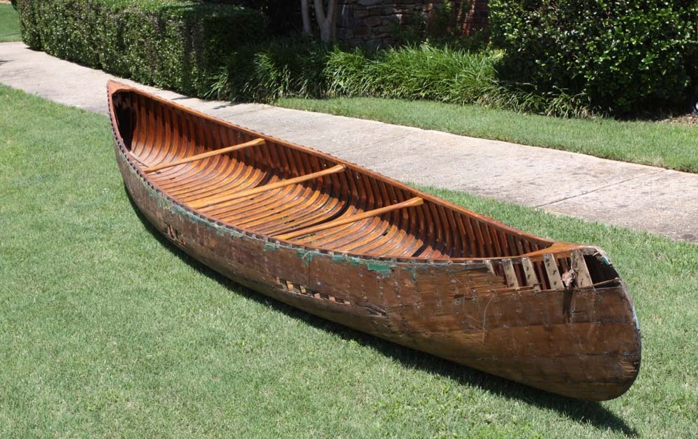 Guide Wooden Canoe Value Free Topic
