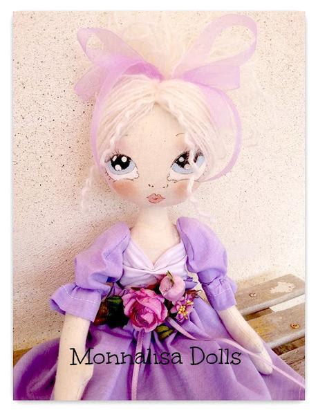 cloth doll  Glicine