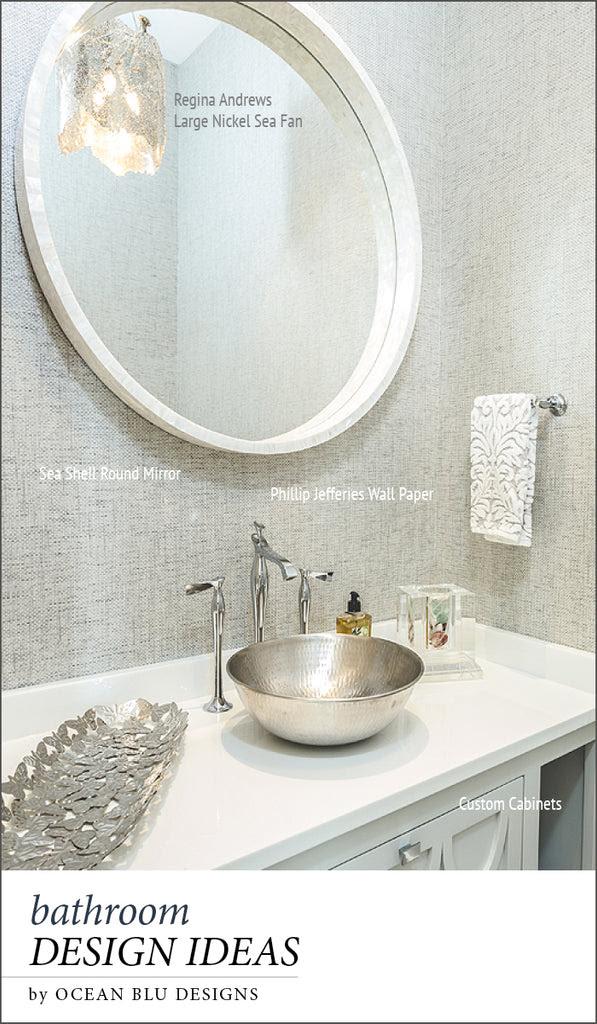 Clean Modern Guest Bathroom Ideas Ocean Blu Designs