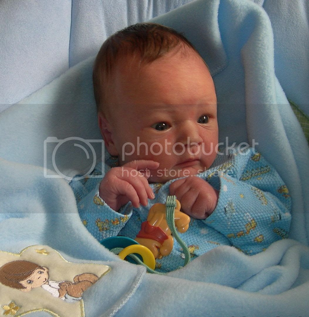Zac's 3 week picture