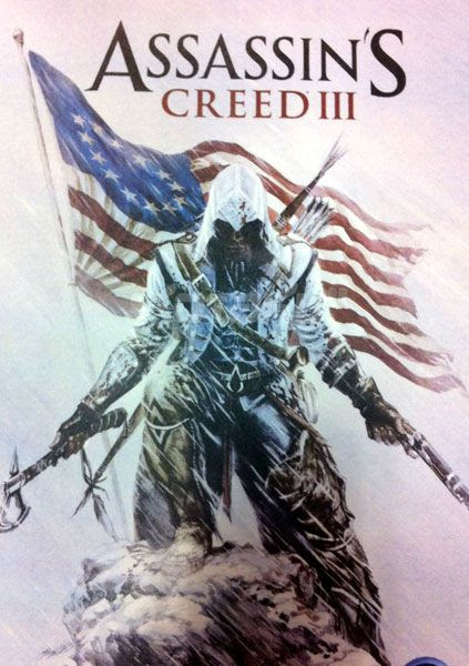Promotional artwork for ASSASSIN'S CREED III.