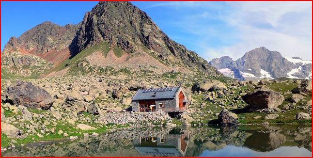 Tour panoramique des Alpes
