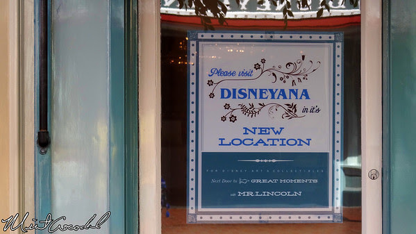 Disneyland, Main Street U.S.A., Market House, Disneyana