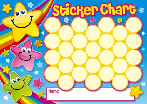 1000+ images about Sticker Charts on Pinterest | Behavior punch ...