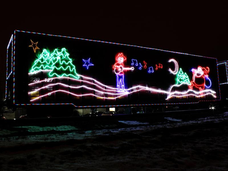 CPR Canadian Pacific Railway Holiday Train in Winnipeg
