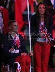 click for more pics from the Paralympic closing ceremony