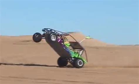 kid   monster wheelie   sand rail