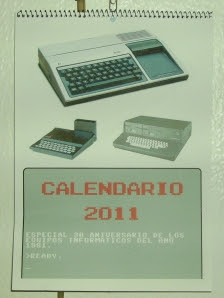 Calendario 2011 Program: Bytes: 48k (Hardware)
