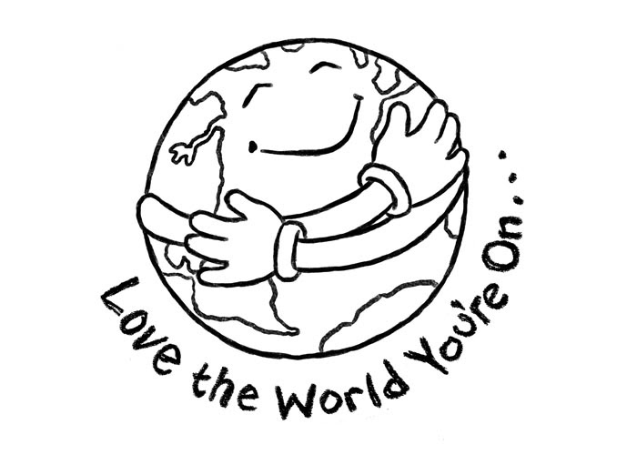 earth day coloring pages 2011