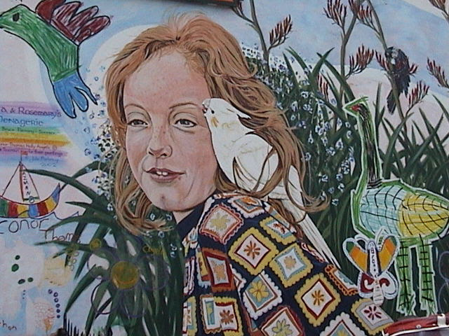 Snells Beach mural