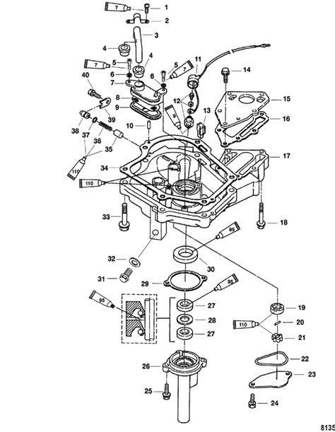 Mercury Marine 6 HP (4-Stroke) Oil Pan Parts