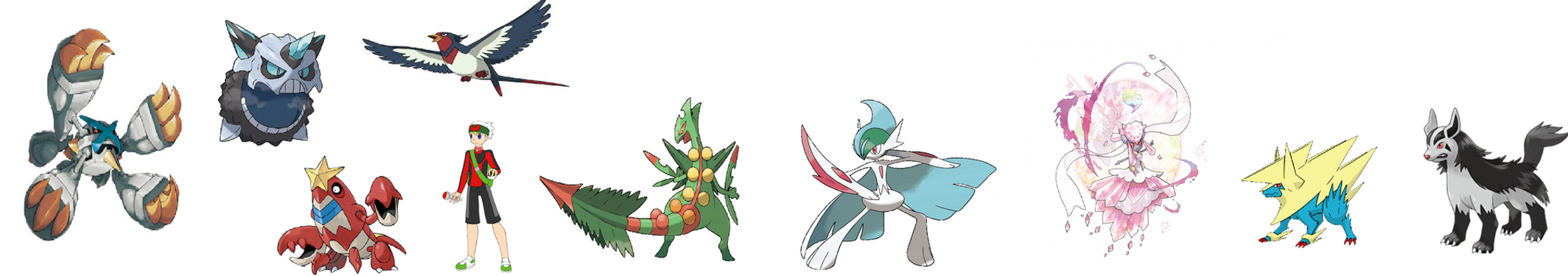 POKEMON OMEGA RUBY AUSTIN39;S TEAM by superaustin15 on