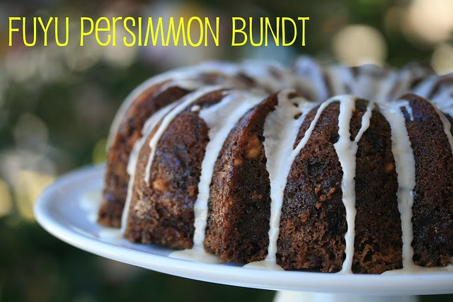 Persimmon Bundt Cake - I Like Big Bundts