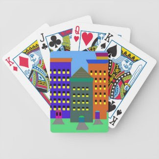 City Art Card Decks