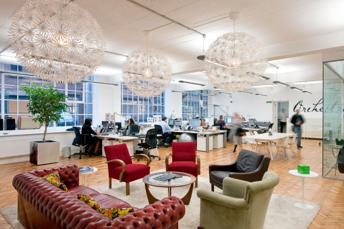 Orchestra's London Loft Offices - Office Snapshots