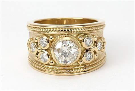17 Best ideas about Wide Band Rings on Pinterest   Wide