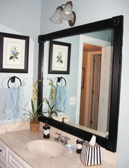 Decorating Bathroom Mirrors | Best Home Ideas