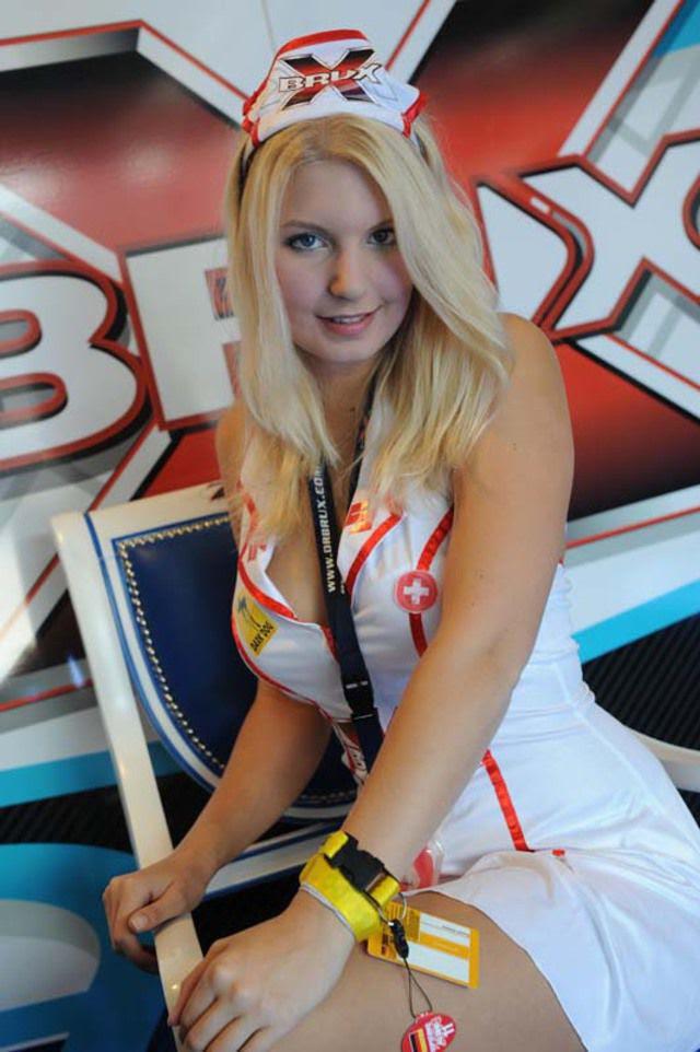 Gadis Paling Hot Selama MotoGP 2012