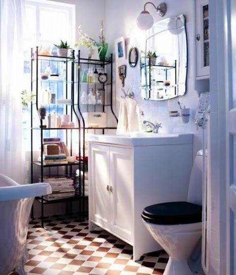 Kleines Badezimmer Schrank