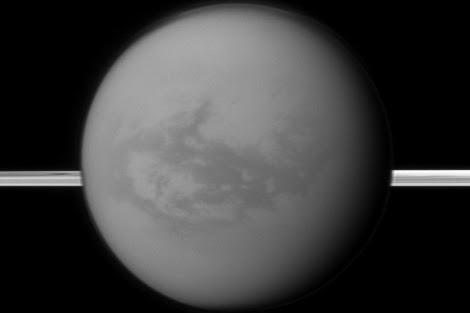 Imagen de Titán captada por Cassini. | Nasa