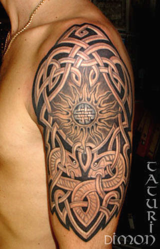 The celtic tattoo design is one of the most popular designs you will find