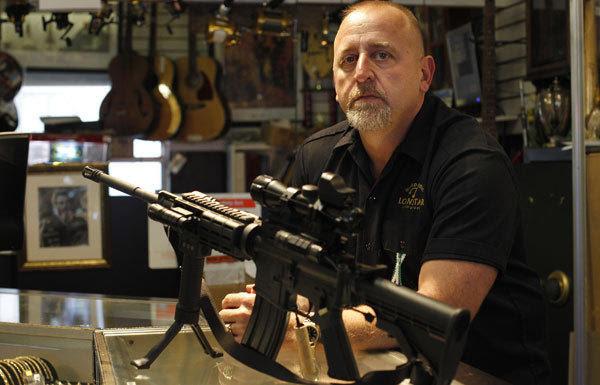 Pawn shop owner Frank James