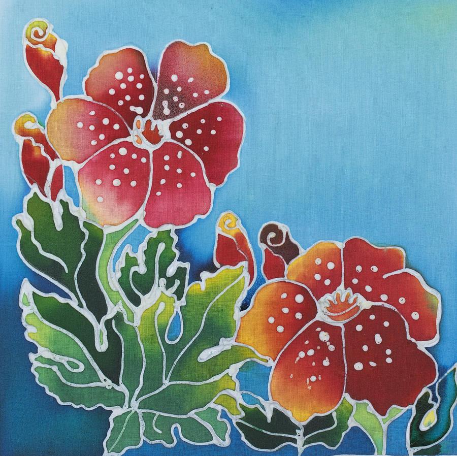 Batik Design Painting