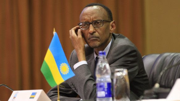 Rwanda President Paul Kagame arrives for Rwanda Day in Toronto on Saturday, Sept. 28, 2013. His visit is expected to draw both supporters and protests.