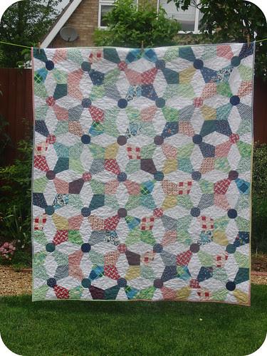 Kaleidoscope Quilt - Front