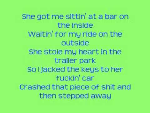 Sitting At A Bar On The Inside Lyrics