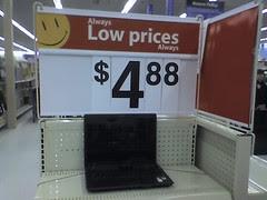 Walmart $4.88 laptop