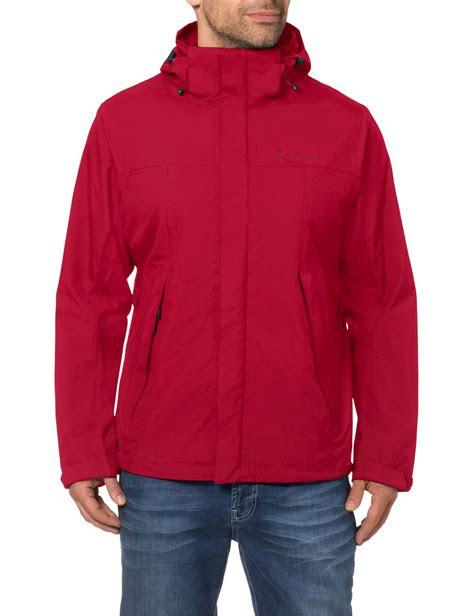 vaude escape bike light jacket men red  bikestercouk