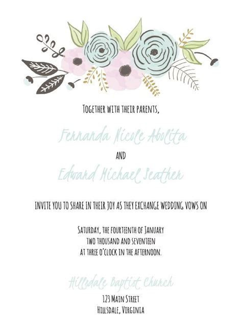 17 Best ideas about Invitation Templates on Pinterest