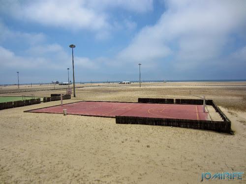 Campos de praia da Figueira da Foz / Buarcos #5 - Basquetebol (2) [en] Game fields on the beach of Figueira da Foz / Buarcos - Basketball