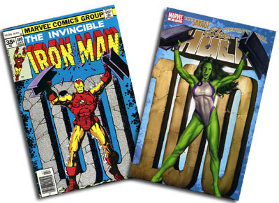 Iron Man #100 and She-Hulk v. 4 #3