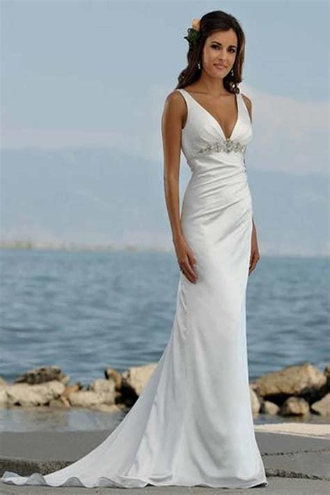 Casual Wedding Dresses Not White   Dress Ty