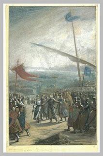 débarquement de Louis 9 en palestine