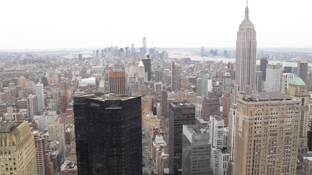 View From MetLife Building Roof, Manhattan, NYC - YouTube