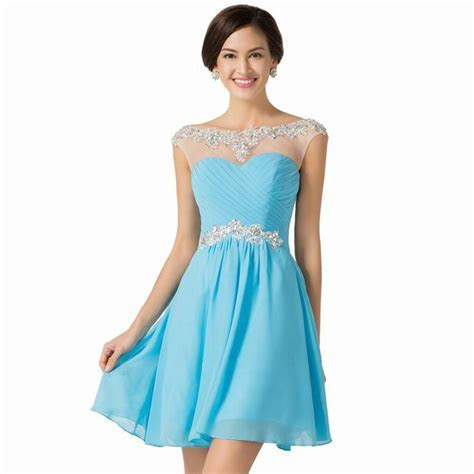 Cute Short Homecoming Dresses For Graduation Vestidos One