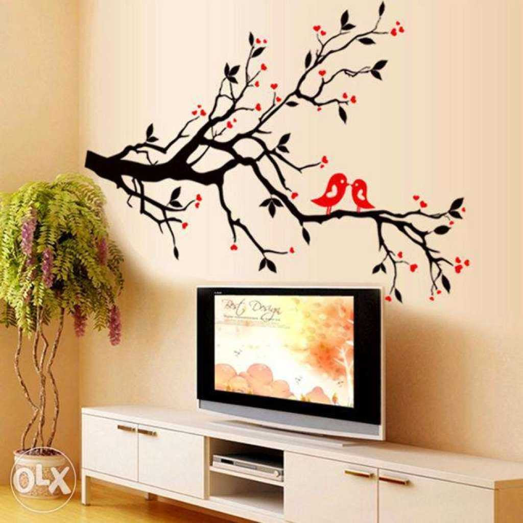 Simple Bedroom Wall Painting Design